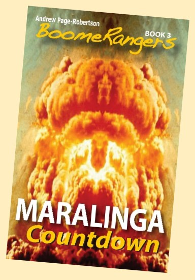 Maralinga Book 3 Cover